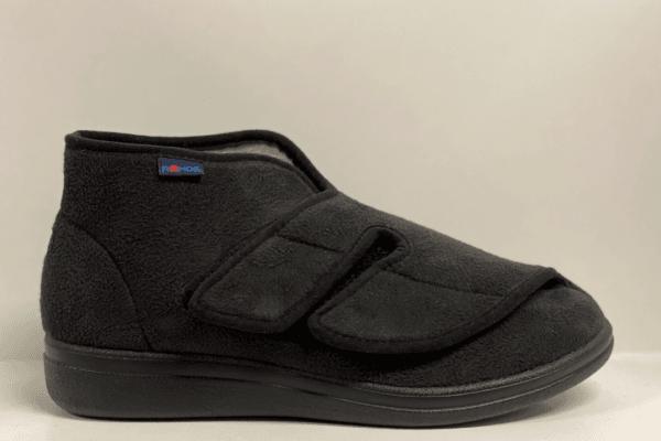 Rohde 0556 dames verbandpantoffel zwart