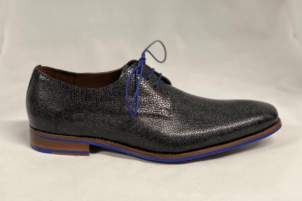 Van bommel 18159/23 Heren geklede schoen blauw