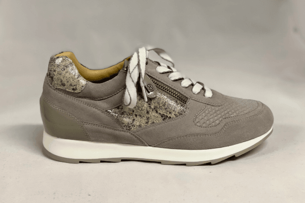 Helioform 240.008.0407 dames veterschoen taupe